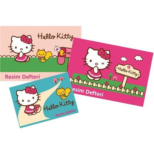 Umur Hello Kitty Resim Defteri Büyük Boy 30 Yp.