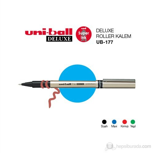 Uni-ball Deluxe Fine Roller Kalem (UB-177)