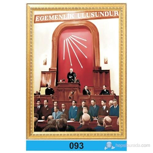 İnter 50x70 cm Varaklı Atatürk Portresi İNT-093