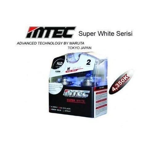 MTEC Süper White H11 Xenon Tip Ampül Seti 5693