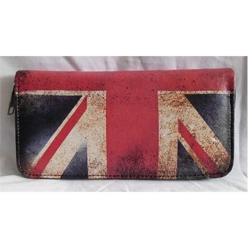 Köstebek İngiltere Bayraklı Uzun Cüzdan