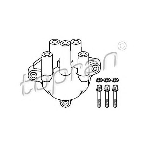 Topran 202009056 Dıstrıbutör Kapağı Astra-Vectra-Kadett-Omega 1.8 -2.0