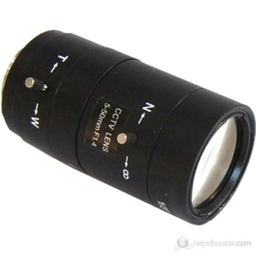 3Mk 5-50Mm Varifocal Manuel İris Lens