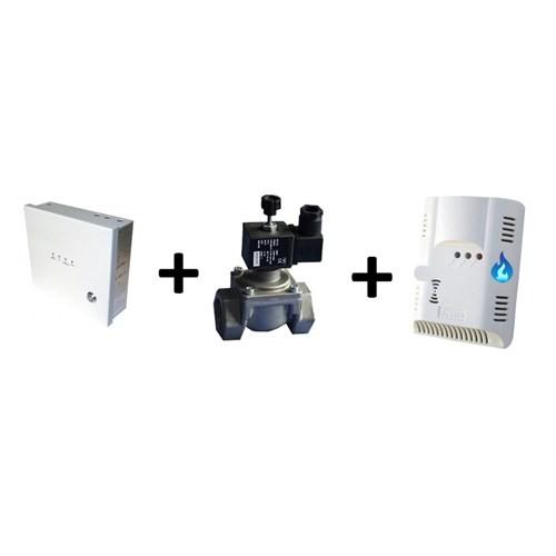 Lorex Deprem Emniyet Seti 2 (LR-EQ Deprem Sensörü + Otomatik Gaz Kesme Sistemi + 3MK-5120D Doğalgaz