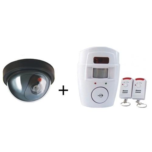 Lorex Hırsız Savar Set 2 (Lorex LR-SK04 Caydırıcı Dome Kamera + Lorex LR-NG300 Kablosuz Hırsız Alarm