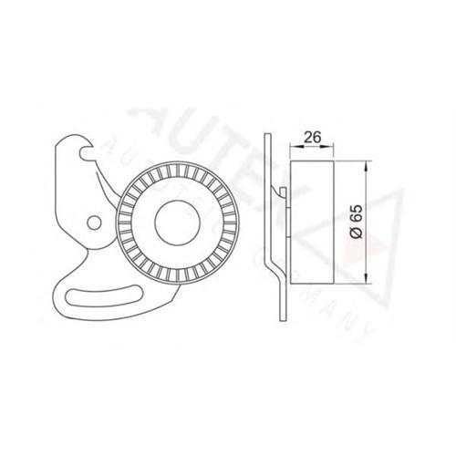 Artag Rn418 Alternatör Gergı Rulmanı (Ayaklı) Clıo Iı-Iıı-Kng-Mgn Iı- Scenıc Iı-Logan-Note1.5Dcı-1.4 16V-1.6 16V