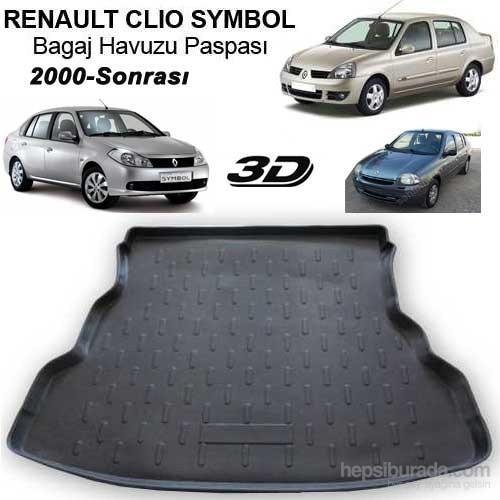 Renault Clio Symbol Bagaj Havuzu Paspası 2008 Sonrası