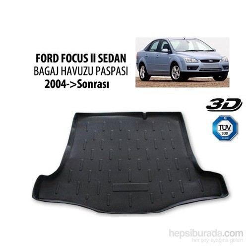 Ford Focus 2 Sedan Bagaj Havuzu 2004-2011 Arası