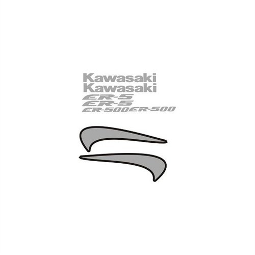 Sticker Masters Kawasaki Er5 Sticker Set