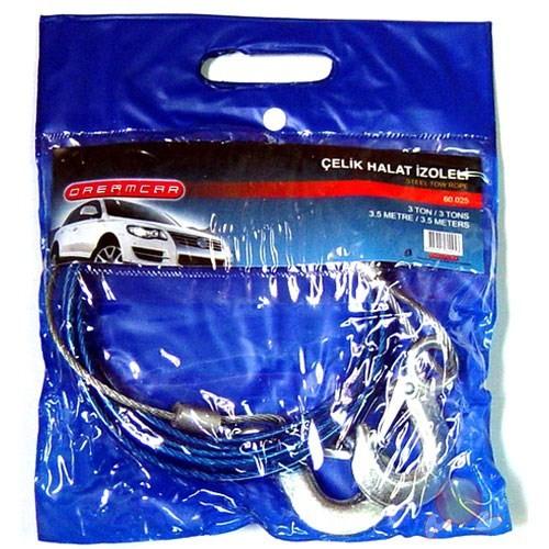 Dreamcar Çelik Halat İzoleli 3 Ton 3,5 M 60025