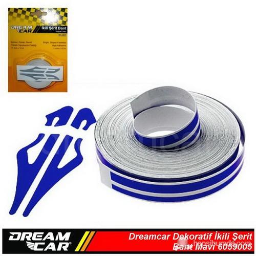Dreamcar İkili Şerit Bant Mavi 10 M. 6059005