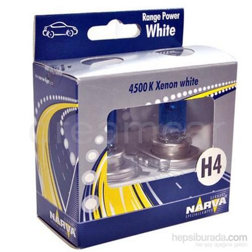 Narva H4 4500K Range Power White Ampul Takım