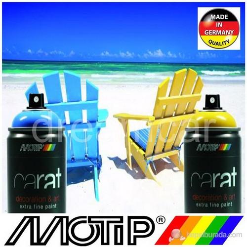 Motip Carat Ral 1013 Kırık Beyaz Parlak Akrilik Sprey Boya 400 Ml. Made in Germany 372827