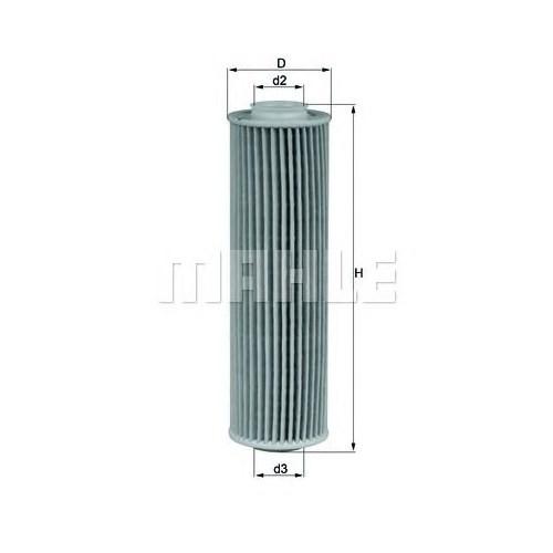 Hengst E207hd221 Yağ Filtre - Marka: Ml - W204/W212 - Yıl: 07- - Motor: M 271
