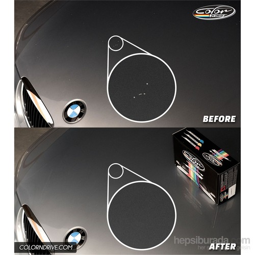Audi A6 [Renk Kod: Oolong Gray Metallic - LX7U/4N] - Color N Drive Taş İzi ve Çizik Rötüş Sistemi