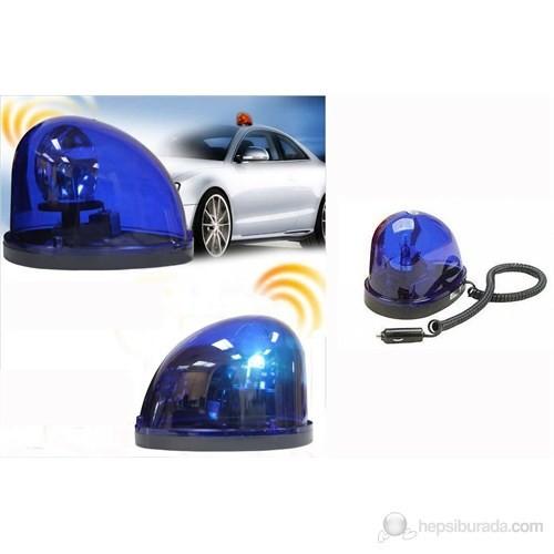 ModaCar Mıknatıslı Taban Mavi Renkli Tepe Lambası 591106M