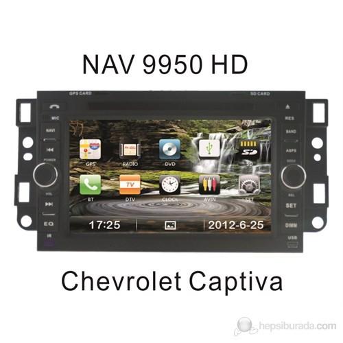 "Navimex CHEVLORET CAPTIVA OLD NAV9950HD 7"" Dokunmatik HD Ekranlı TV'li-Navigasyonlu Multimedya sist"