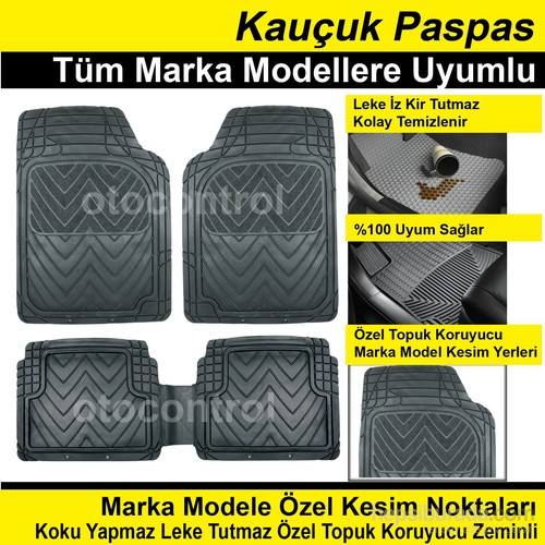 Citroen C3 2012 Model Kauçuk Paspas 39652
