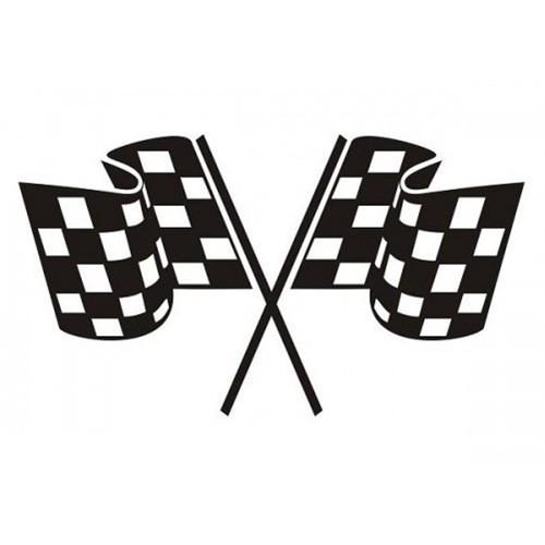 Sticker Masters Yarış Bayrağı Sticker
