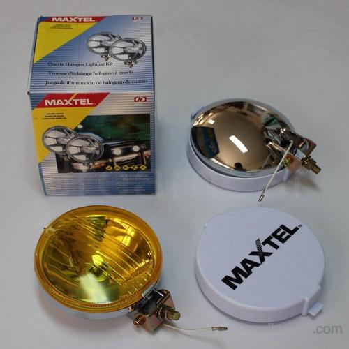 Maxtel 138mm Yuvarlak Sarı Lens Sis Farı Takım JF601CW