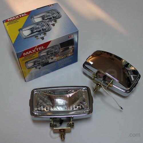 Maxtel 164x88mm Dikdörtgen Şeffaf Lens Sis Farı Tk. JF105CW
