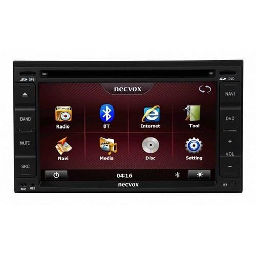 Necvox Dvn -P 1001 Nissan Platinum Navigasyonlu Multimedya Kamera Dvd Mp3 Tv Anteni Geri Görüş Kamerası