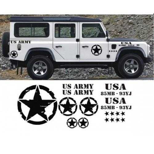 Sticker Masters Defender Sticker Set