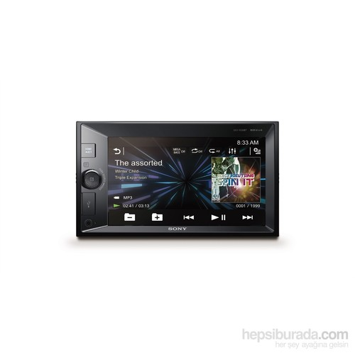 Sony XAV-V630BT Mega Bass, Bluetooth,NFC Özellikli MultiMedya Sistem