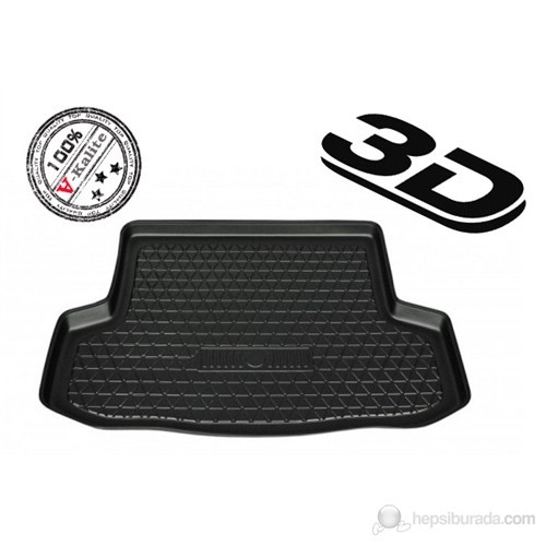 L.Locker Chevrolet Captiva 3D Bagaj Havuzu