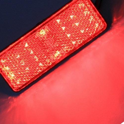 Knmaster Motosiklet Kedi Gözü (Kırmızı Ledli)