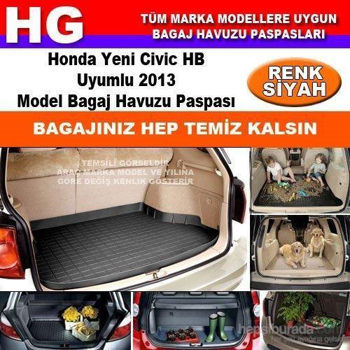 Honda Civic Hb 2013 Siyah Bagaj Havuzu Paspası 38829