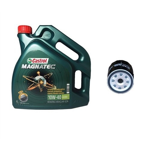 Castrol Magnatec 10W-40 + Filtre Seti ( 1 Adet Filtre)