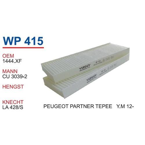 Wunder Peugeot Partner Tepee 2012 >> Polen Filtresi Oem No:1444.Xf
