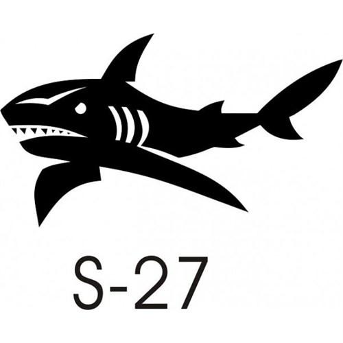 Sticker Masters Köpek Balığı Sticker