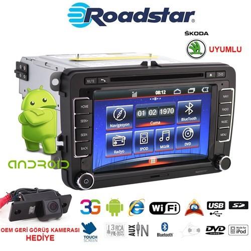 Skoda Android Dvd Navigasyon Oem Multimedya Ve Oem Kamera Paketi