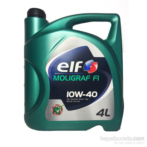 Elf Moligraf F1 10W/40 Benzinli 4 Lt Motor Yağı 652020