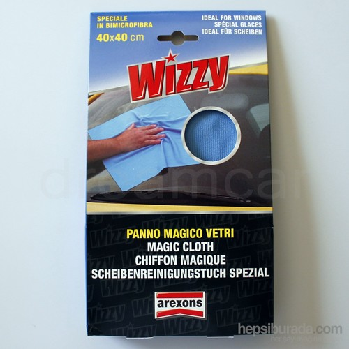 Arexons Wizzy Araç Dış Microfiber Bez 40x40 cm Made In Italy