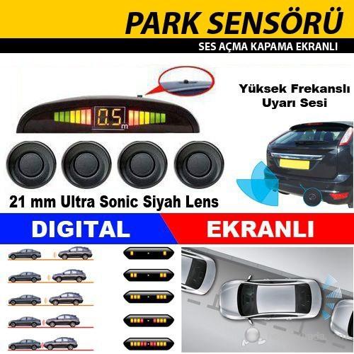 Otocontrol Park Sensör Siyah Lens Ekran Rt 233 38533