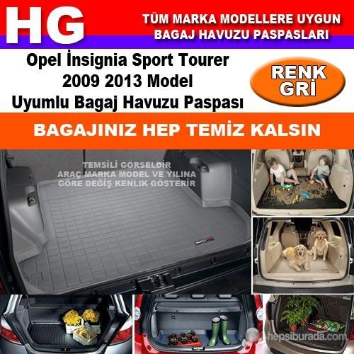 Opel İnsignia Sport Tourer 2009 2013 Gri Bagaj Havuzu Paspası 38978