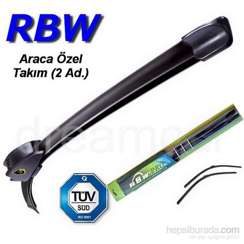 Rbw Bmw 5 Seri Touring (E61) 2004-2010 Kasa İçin Muz Silecek Takım 60cm+58cm 190805
