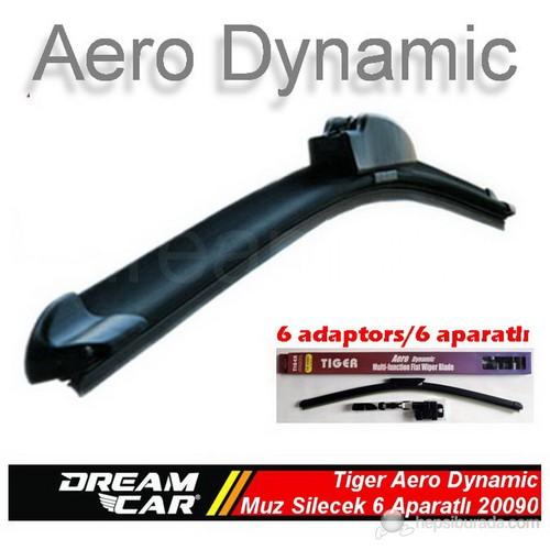 Dreamcar Tiger Aero Dynamic Araca Özel 6 Aparatlı Muz Tipi Yeni Nesil Silecek 650 mm. 2009010