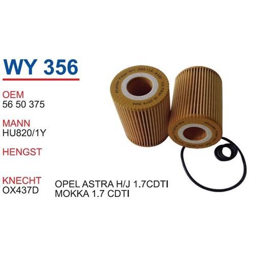 Wunder Opel Astra J Kasa 1.7 Cdtı Yağ Filtresi Oem No:5650375