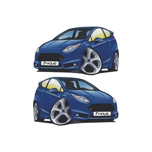 Sticker Masters Ford Focus Basık Araç Sticker