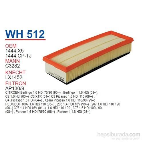 Wunder Citroen C3 - C4 - BERLiNGO 1.6 HDI Hava Filtresi OEM NO:1444.X5