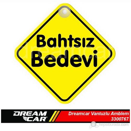 Dreamcar Vantuzlu Amblem ''Bathsız Bedevi'' (Pürüzsüz tüm yüzeylere yapıştırılabilir.) 3300767