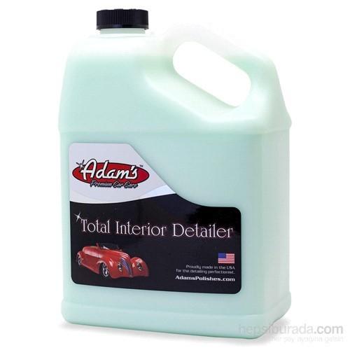 Adam's Polishes Total Interior - Konsantre Genel İç Temizleyici 3.78 L