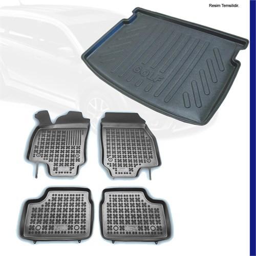 Chevrolet Cruze 3D Paspas + Bagaj Havuzu (Kalın Stepne) 2009-12