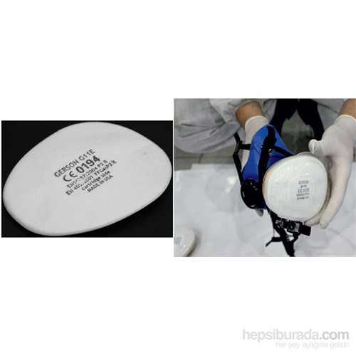 MxS Profesyonel Maske Kartuş Ön Filtresi 102811