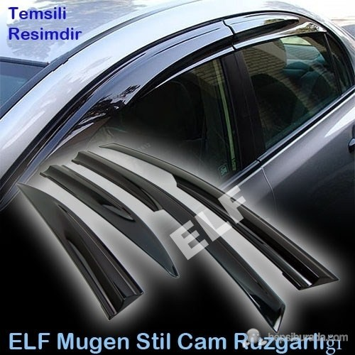 Elf Volkswagen Polo Mugen Cam Rüzgarlığı 02/09