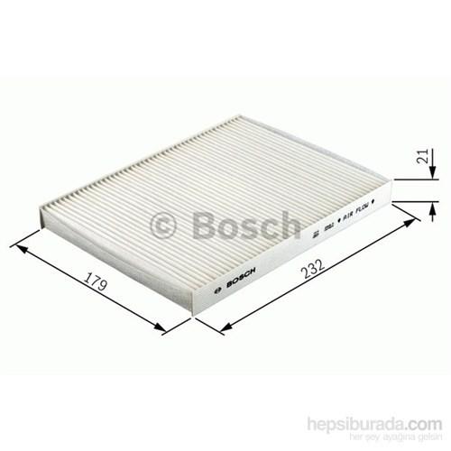 Bosch - Polen Filtresi Aktif Karbon (Fıat Stılo Tüm Modeller) - Bsc 1 987 432 377